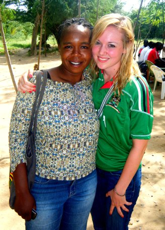 Mama Hilda, my supervisor and mentor during the experience.